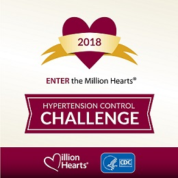 Enter the 2018 Million Hearts Hypertension Control Challenge