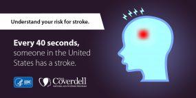 2018 Stroke Awareness Month infocard.