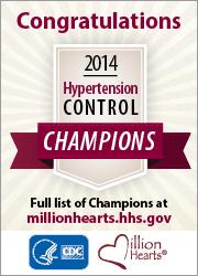 2014 Hypertension Control Champions