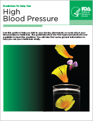 Cover of High Blood Pressure: Medicines to Help You