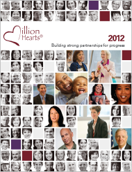 Cover of Million Hearts® 2012: Building Strong Partnerships for Progress