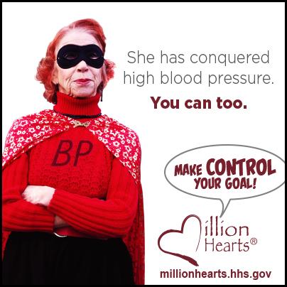 She has conquered high blood pressure. You can too. Make control your goal.