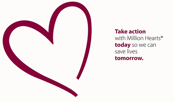 Take action with Million Hearts today so we can save a life tomorrow.