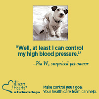 Make Control Your Goal. Your health care team can help. Go to http://millionhearts.hhs.gov