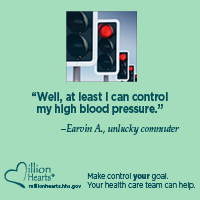 Well, at least I can control my high blood pressure. - Earvin A, Unlock commuter.