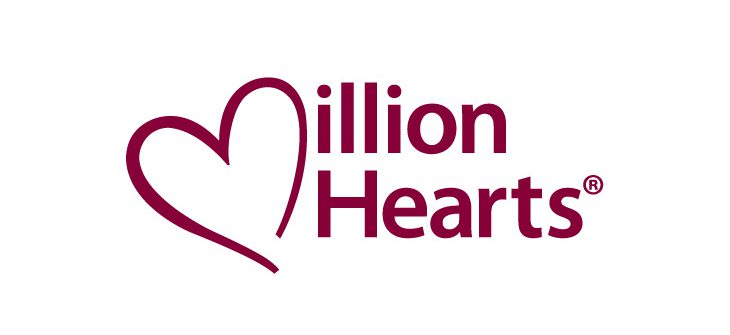 Red Text White Background PNG Format Million Hearts Logo