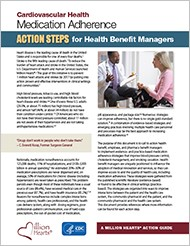 Medication Adherence Action Steps for Health Benefit Managers