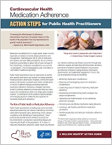 Medication Adherence Action Steps for Public Health Practitioners